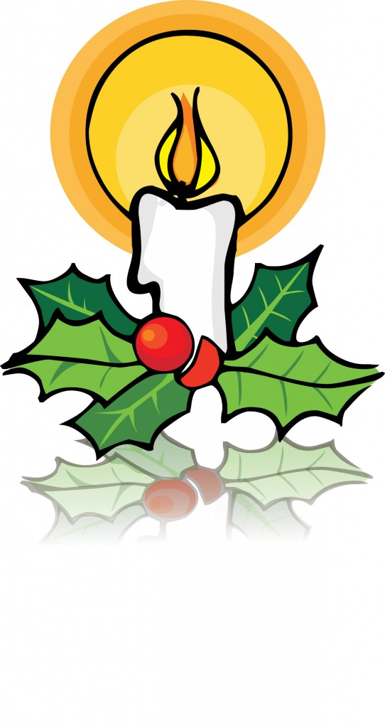 542x1024 Candle Clipart Christmas Symbol