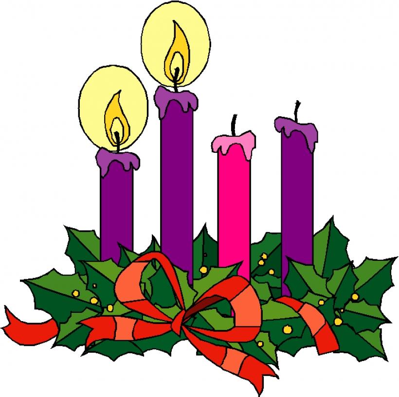 820x816 Iiii Clipart Advent Candle