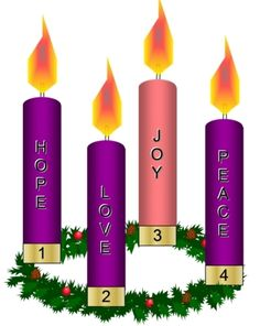 236x296 Advent Wreath Candles Order