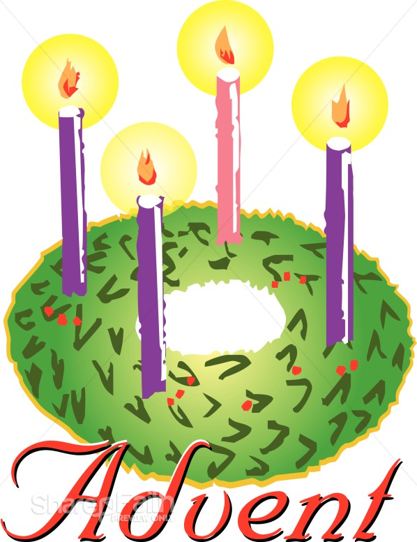 598x776 Advent Wreath Clipart Advent Clipart