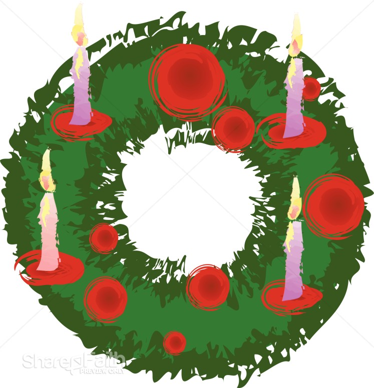 747x776 Advent Wreath Christmas Religious Clipart Advent Clipart