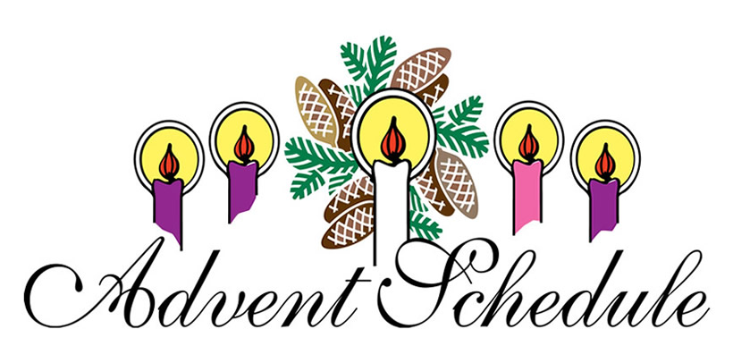 820x406 Advent Wreath Clipart Churchart Online