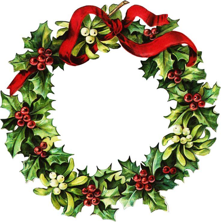 736x740 Christmas Clip Art Christmas Wreath Printable Merry Christmas