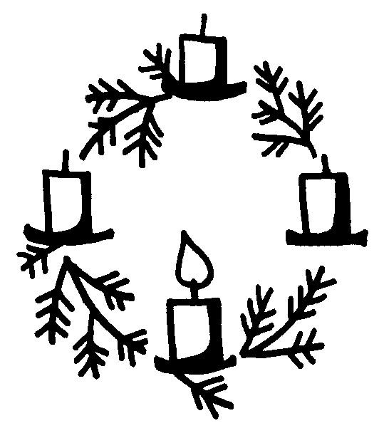 532x608 Graphics For Black And White Advent Wreath Graphics Www