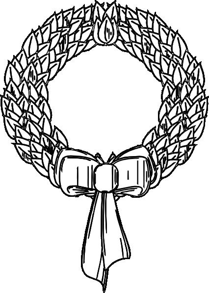 426x597 Wreath Clip Art