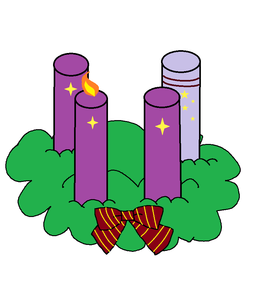 806x912 Advent Wreath 2016 First Sunday Of Advent By Obeliskgirljohanny