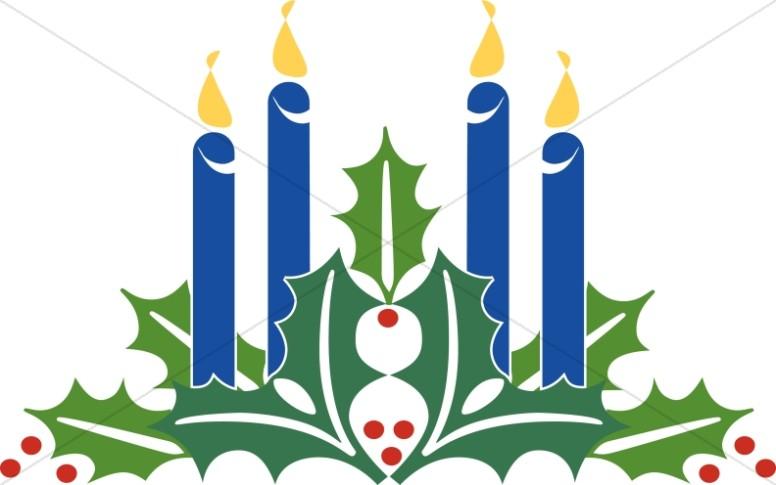 776x485 Advent Wreath Clip Art