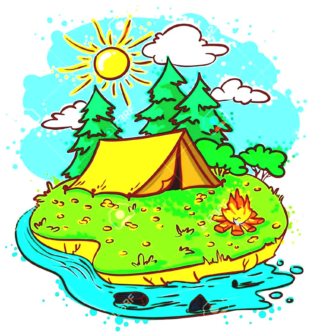 1046x1100 Adventure Clipart Summertime