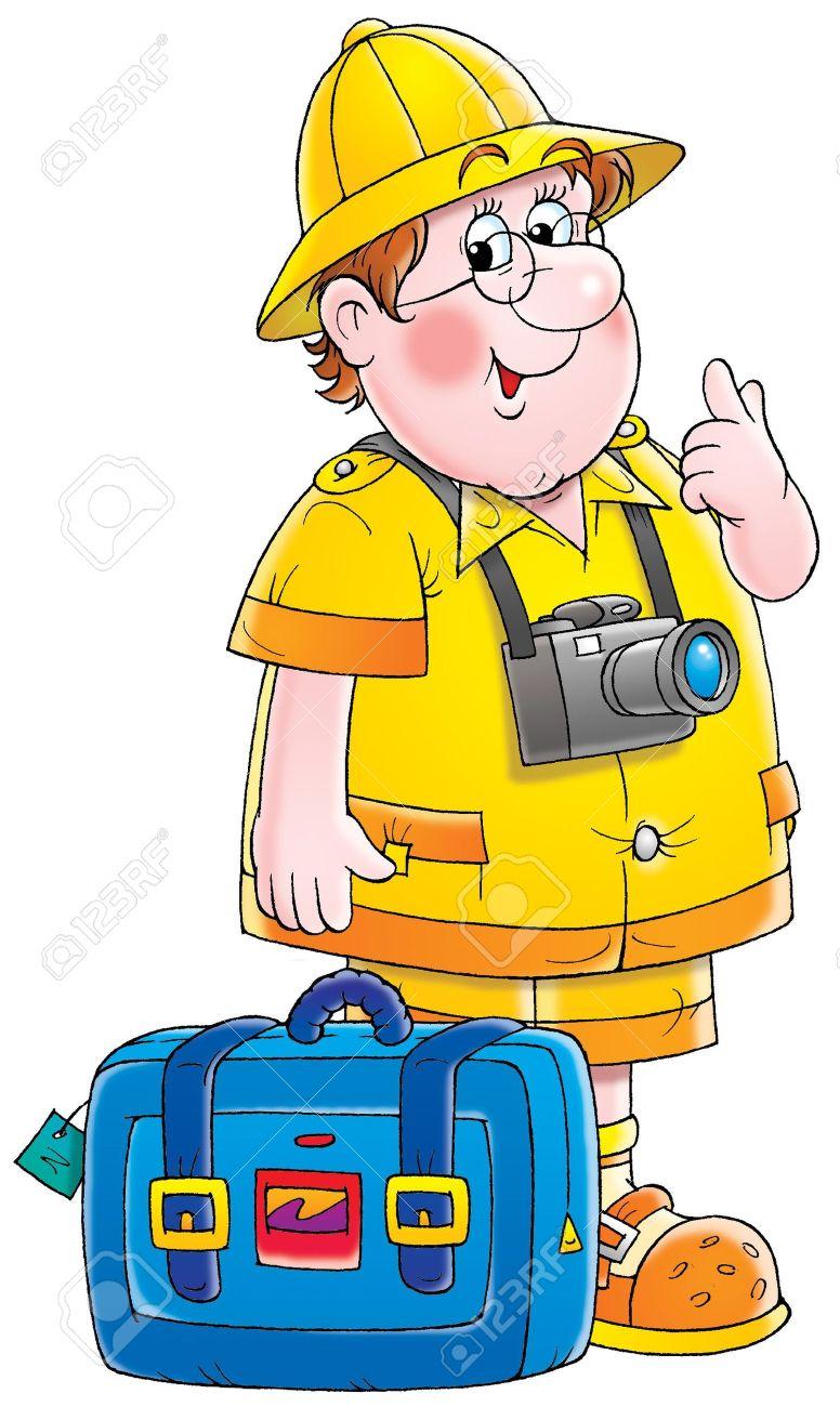776x1300 Adventure Clipart Traveller