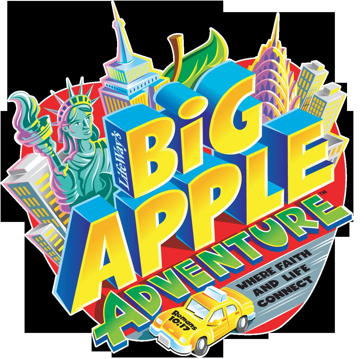 1200x1184 Big Apple Adventure Clip Art