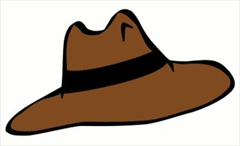 350x213 Clipart Of A Hat