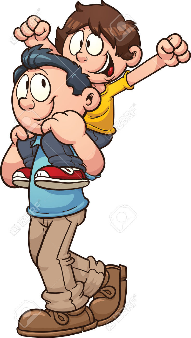 736x1300 Father And Son Clipart Many Interesting Cliparts