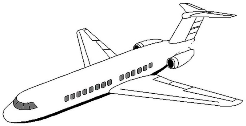 800x409 For Kids Download Airplane Coloring Page 51 On Coloring Print