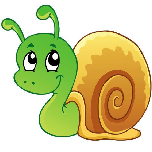 600x600 Free Snail Clip Art Image