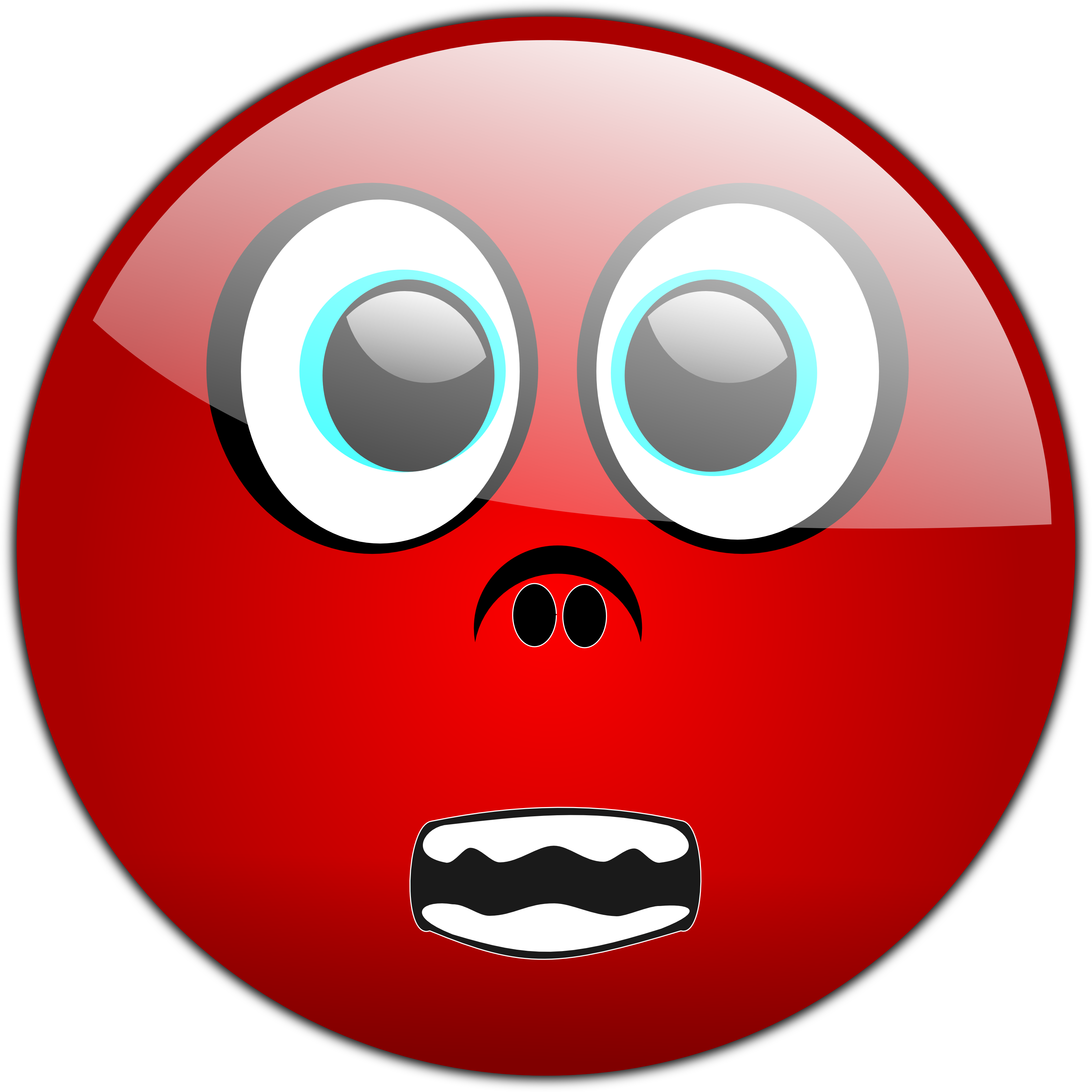 3200x3200 Scary Smiley Face Clipart
