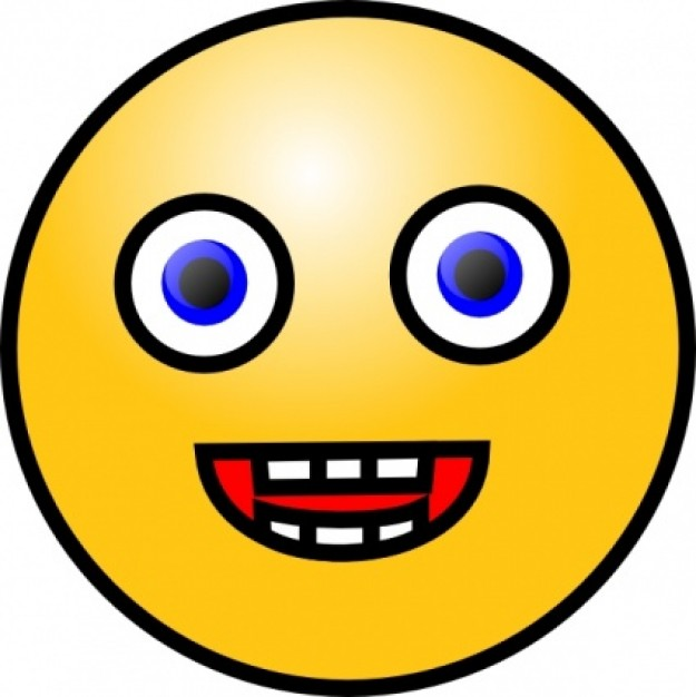 625x626 Smiley Clipart Scared