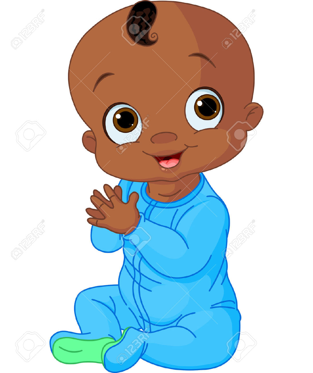 1092x1300 Image Of African American Baby Clipart