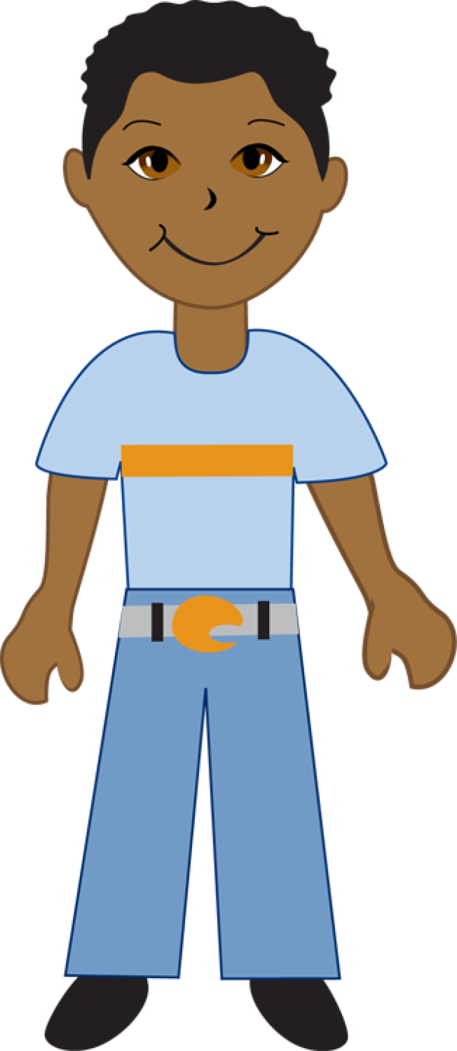 640x1472 African American Clipart