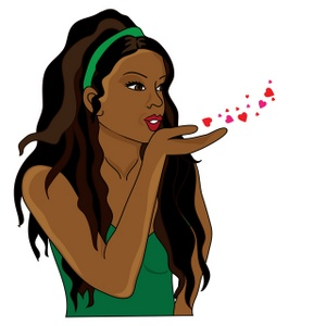 300x300 African American Woman Clipart Many Interesting Cliparts