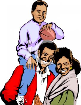 272x350 Black Families Clipart