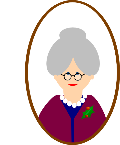 492x595 Courtesy Clipart African American Grandmother
