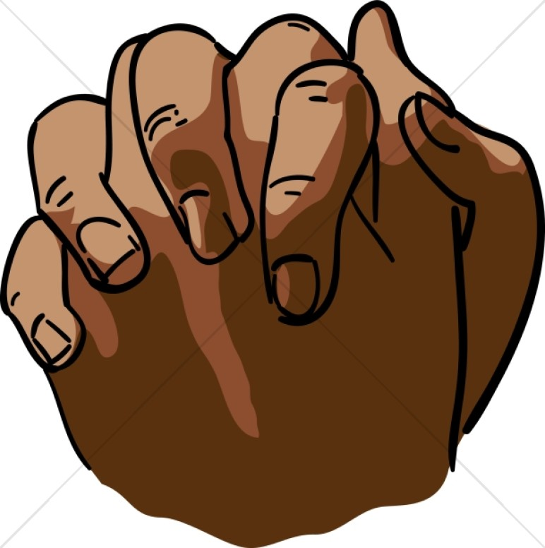 772x776 Free African American Praying Hands Clipart