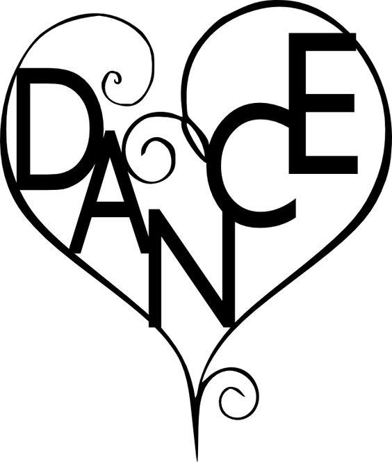 564x664 Dance Silhouette Clip Art