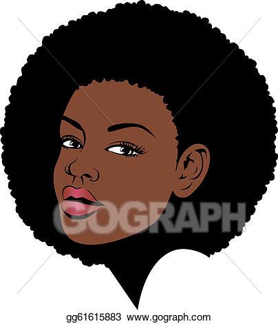 404x470 Afro Clip Art