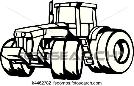 450x289 Clipart Of Agriculture Vehicles K4462782