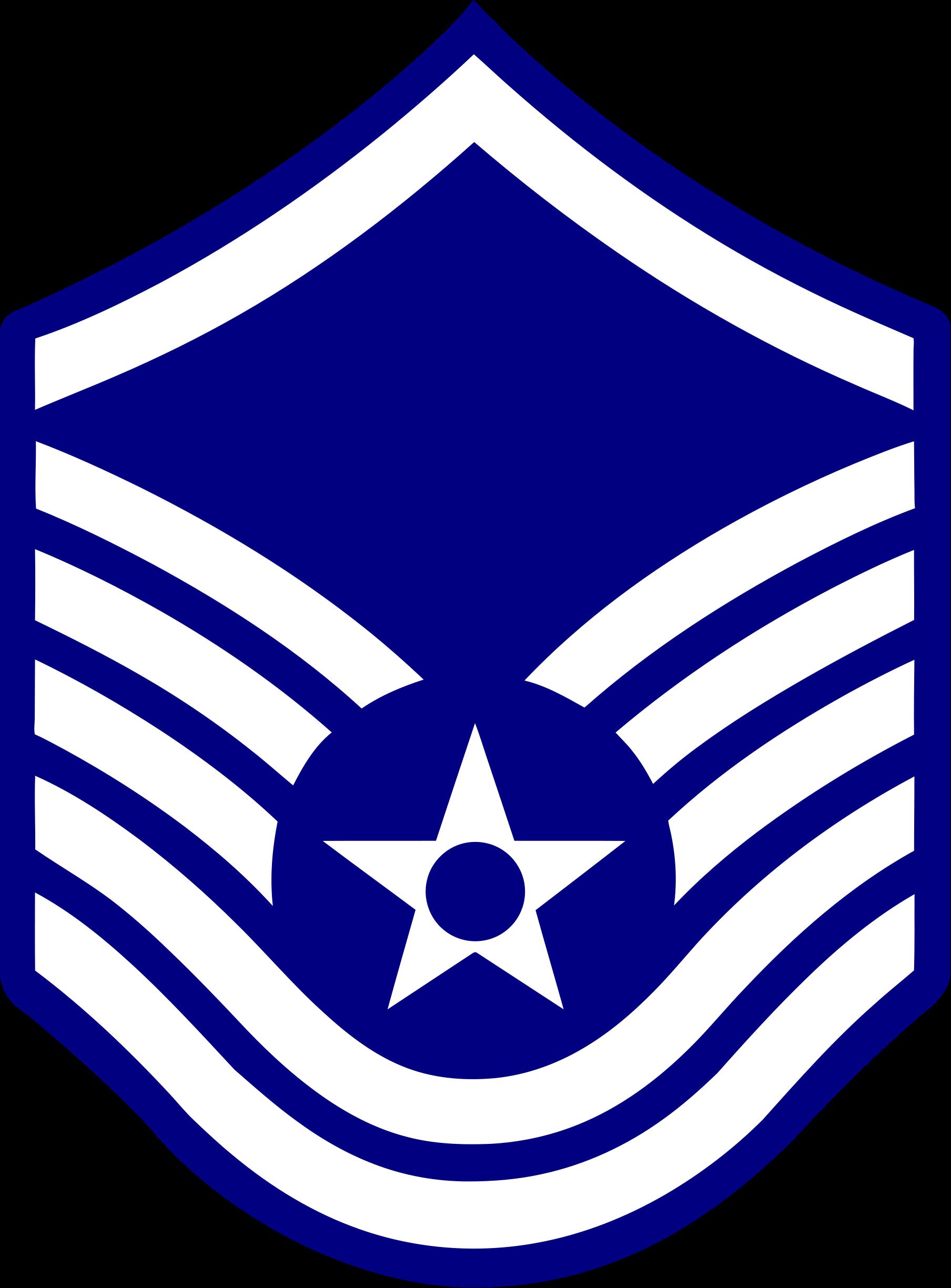 1808x2449 Air Force Master Sergeant Stripes Clipart