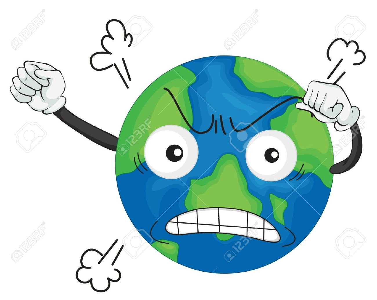 1300x1036 Planet Earth Clipart Pollution