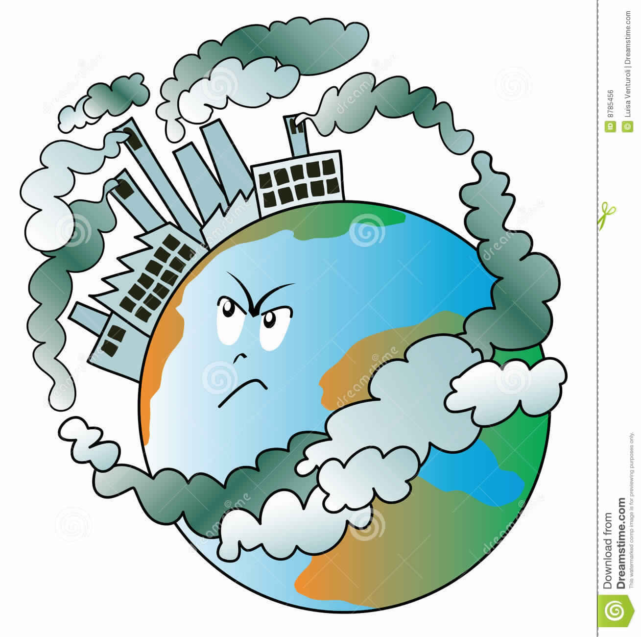 1309x1300 Smog Clipart Land Pollution