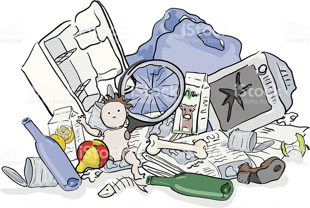 1024x689 Garbage Pollution Clipart