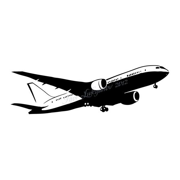600x600 Boing Airplane Clipart