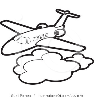 400x420 Flight Clipart Black And White