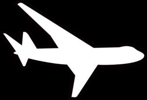 300x204 Airplane Clip Art