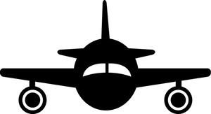 300x163 Free Plane Silhouette Clipart Image 0515 1011 1111 5502 Acclaim