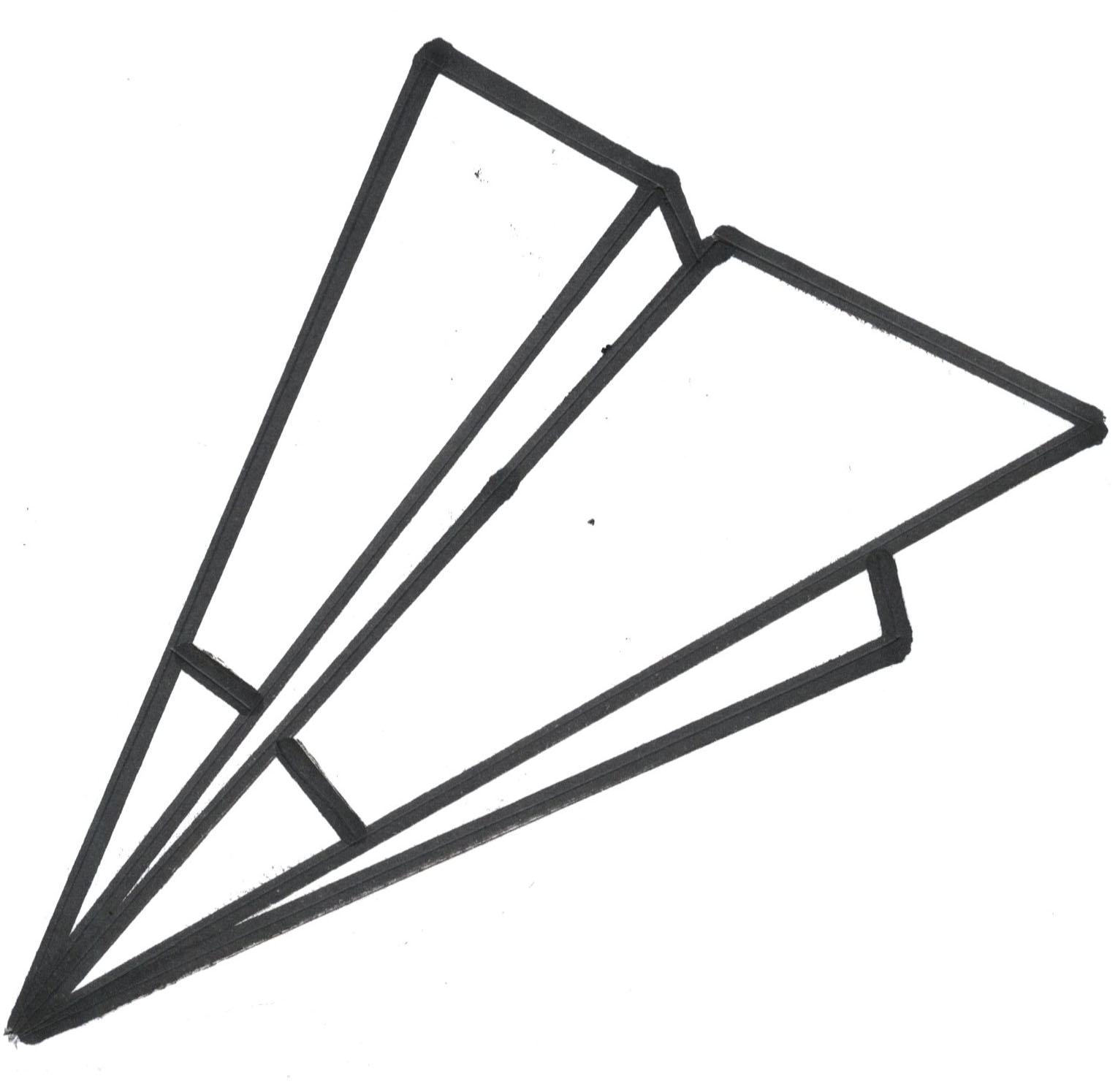 Airplane Black And White Clipart | Free download on ClipArtMag