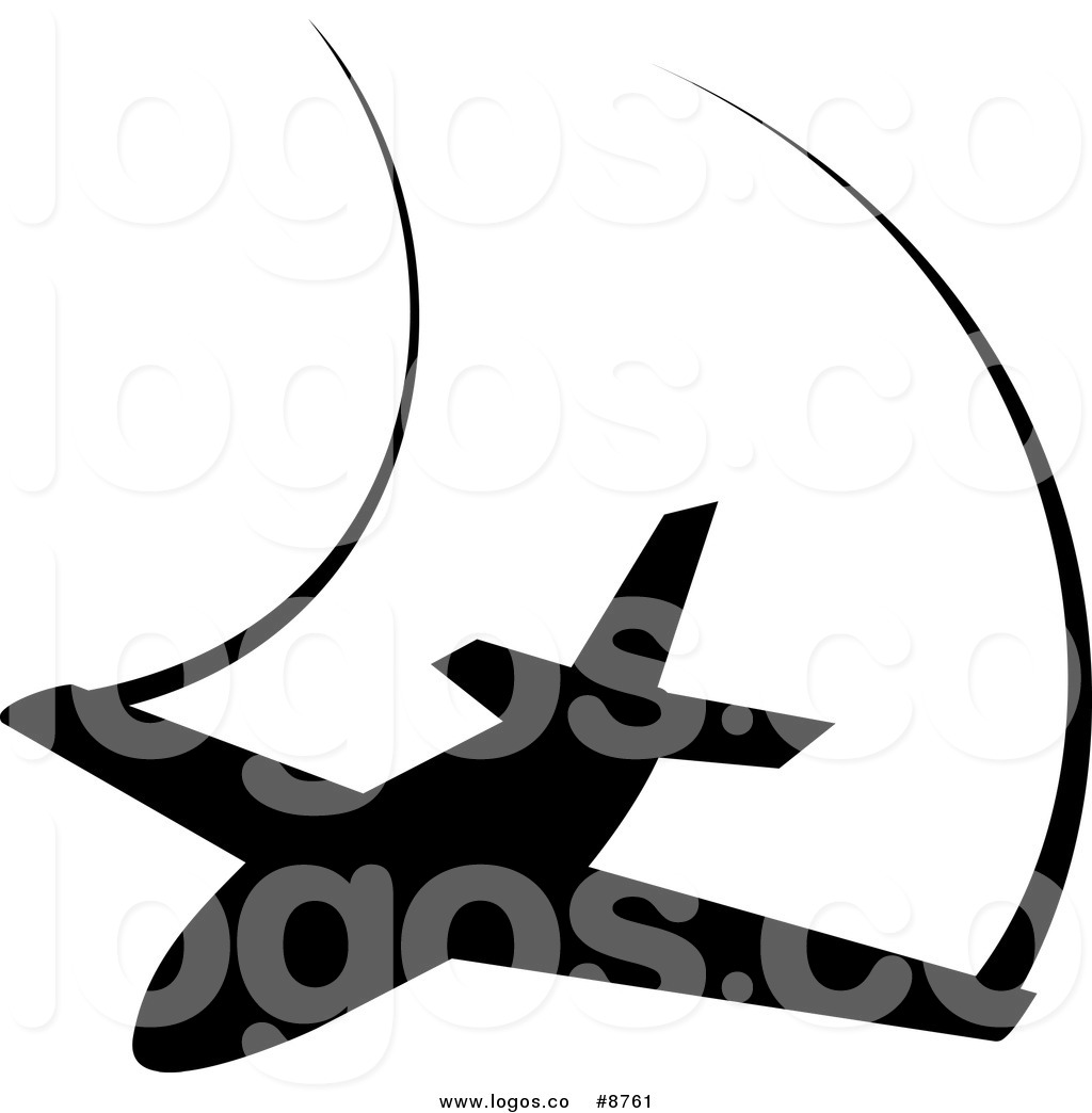 1024x1044 Royalty Free Clip Art Vector Black Silhouetted Airplane And Trails