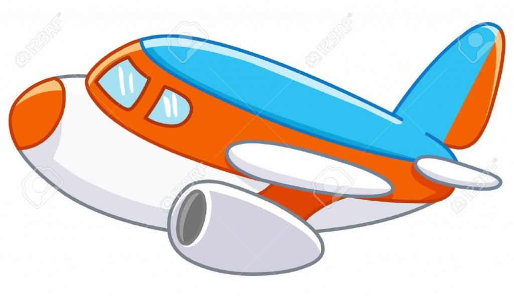 1024x594 Cartoon Drawings Airplanes Cartoon Plane Royalty Free Cliparts