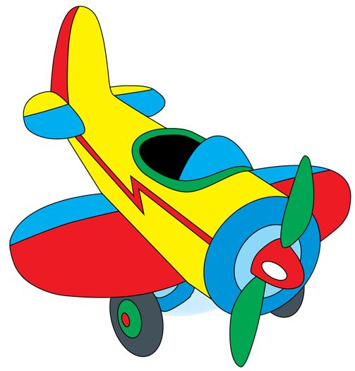 503x525 Flying Clipart Toy Plane