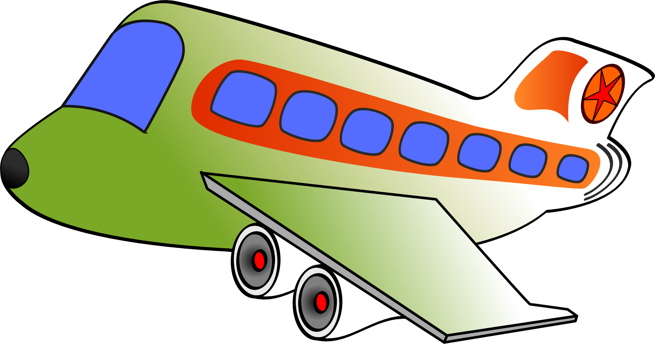 2200x1157 Funny Airplane Clipart, Explore Pictures