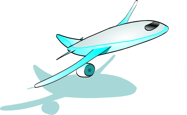 600x370 Plane Taking Off Clip Art Free Vector 4vector
