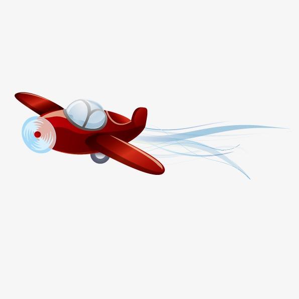 595x595 Vector Hand Drawn Cartoon Airplane, Cartoon Airplane, Vector