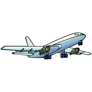 300x300 Vector Plane Png Clipart