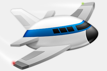 352x236 Airplane Cartoon Png