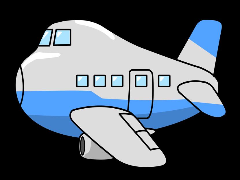 830x623 Airplane Clipart