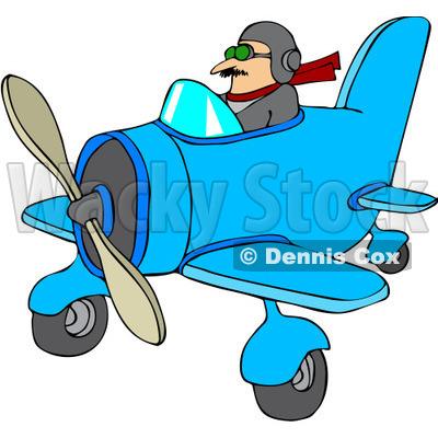 400x400 Airplane Clipart Pilot