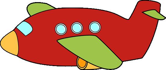 550x232 Clip Art Airplane