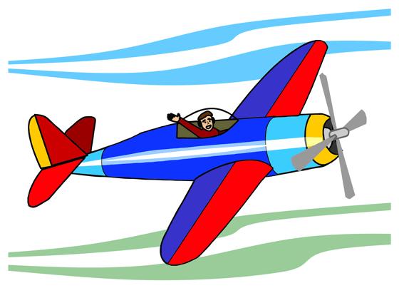 560x411 Airplane Clip Art